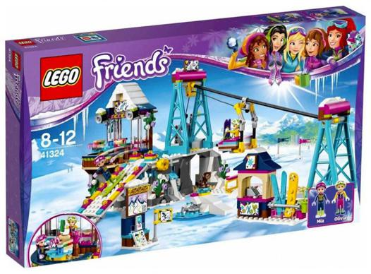 lego friends station de ski