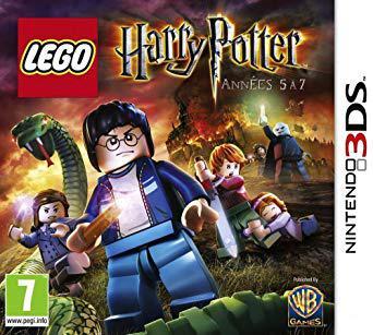 lego harry potter années 5 à 7 3ds