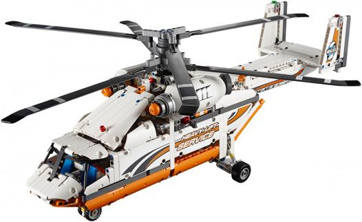 lego helicoptere technic