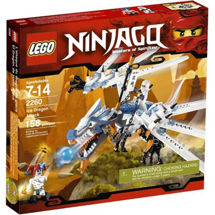 lego ninjago blanc