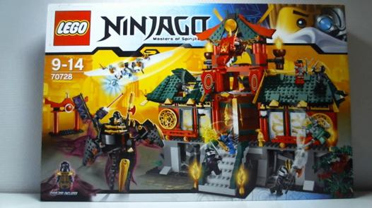 lego ninjago construction