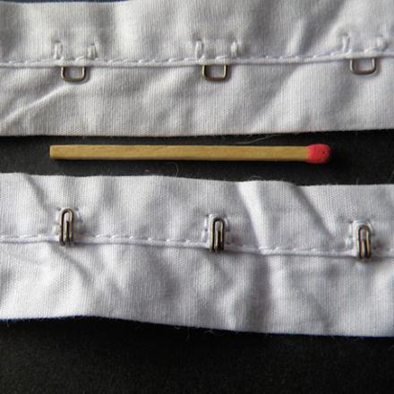 les moyens de fermeture en couture
