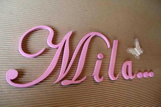 lettre murale prenom