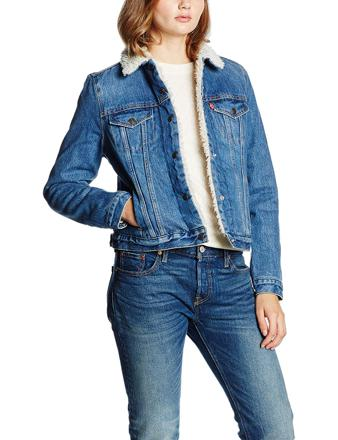 levi's veste jean femme