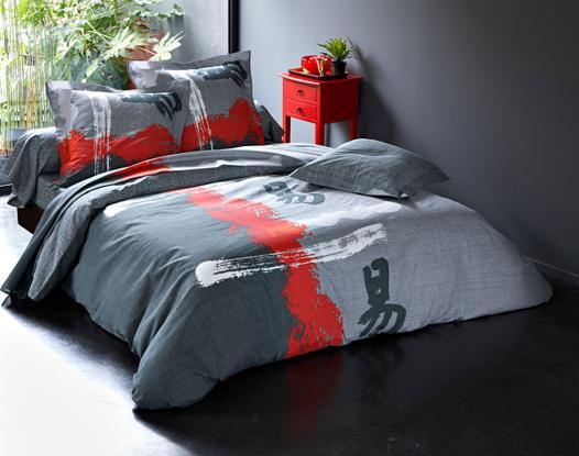 linge de lit asiatique