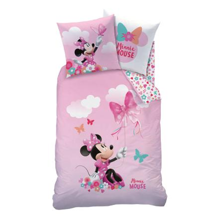 linge de lit minnie