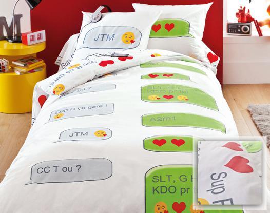 linge de lit pour adolescent