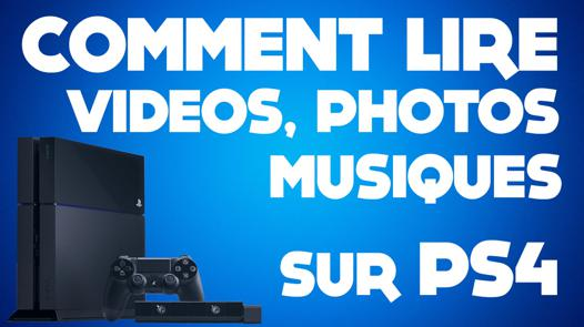 lire video pc sur ps4
