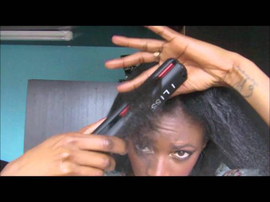 lisseur pour cheveux crépus