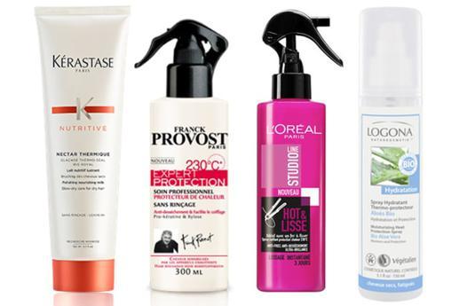 lisseur protection cheveux