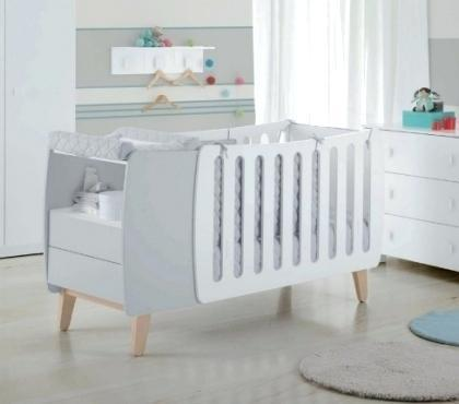 lit bebe avec table a langer integre
