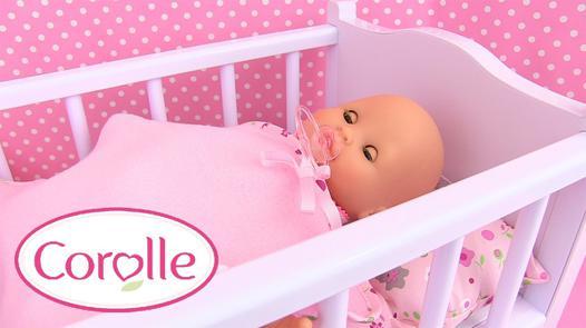 lit bebe corolle