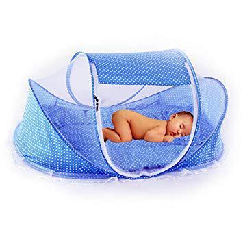 lit de voyage pour bébé pliable et portable