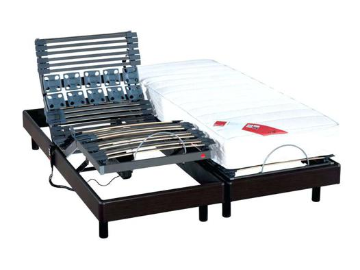 lit électrique 2 personnes