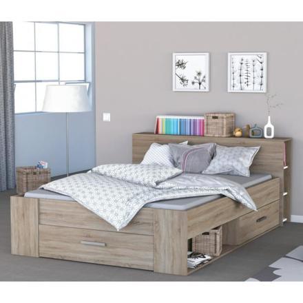 lit en 140 avec tiroir