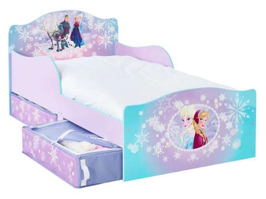 lit enfant la reine des neiges