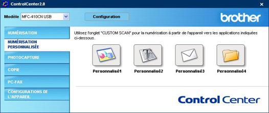 logiciel scan brother
