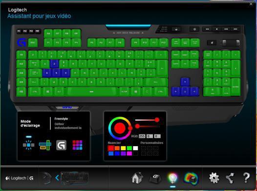 logitech logiciel clavier