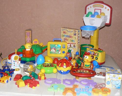 lot de jouet