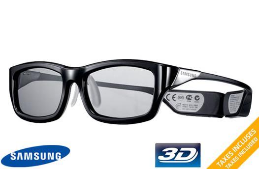 lunette 3d samsung rechargeable
