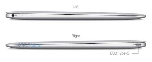 macbook air connectique