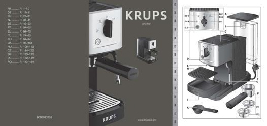 machine a cafe krups mode d'emploi