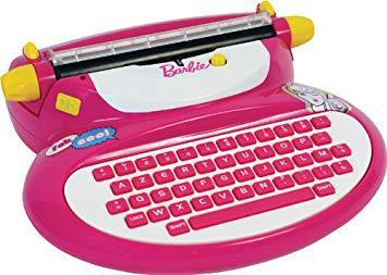 machine a ecrire barbie