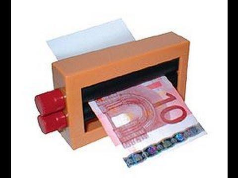 machine a faux billet