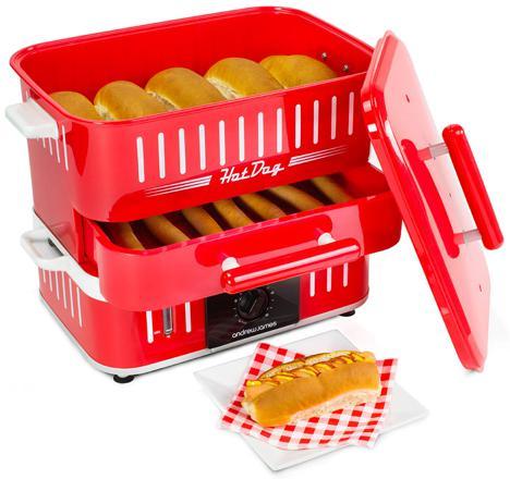 machine a hot dog vapeur