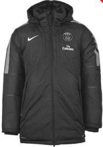manteau psg noir