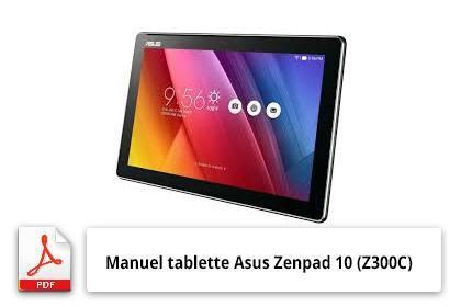 manuel tablette asus