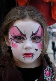 maquillage enfant vampire fille