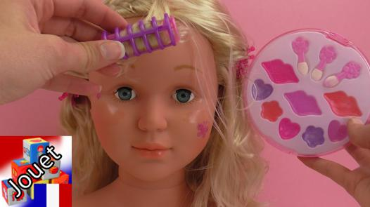 maquillage pour tete a coiffer