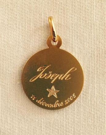 médaille gravure photo