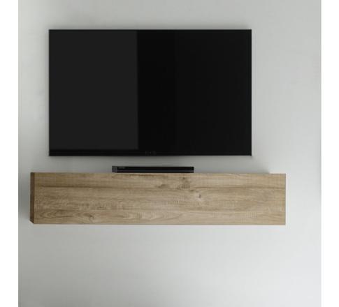 meuble suspendu bois