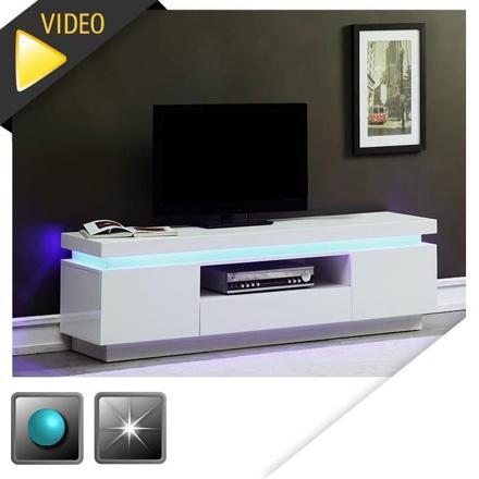 meuble tv avec led