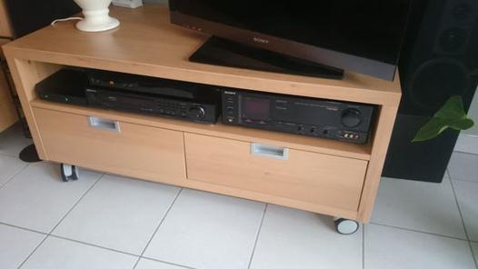 meuble tv couleur hetre