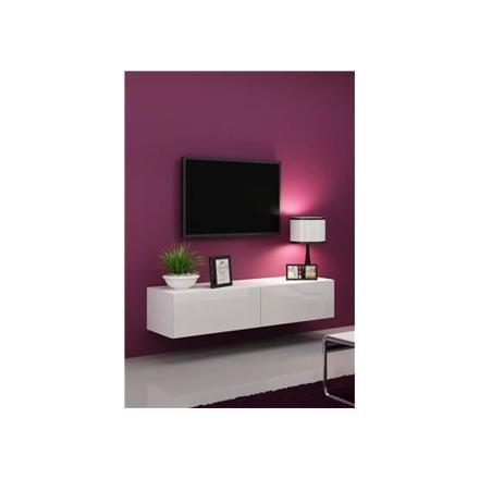 meuble tv suspendu 140 cm