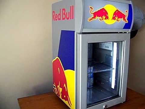mini frigo red bull