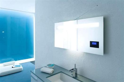 Awesome Miroir Salle De Bain Antibuee Radio Photos - House ...