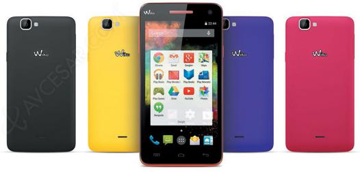 mise a jour wiko rainbow