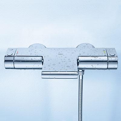 mitigeur de baignoire grohe