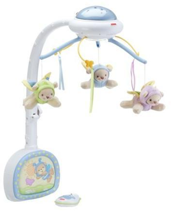 mobile musical doux reves papillons