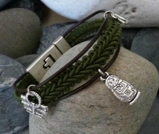 modele bracelet cuir
