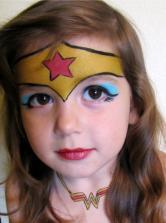 modele maquillage enfant facile