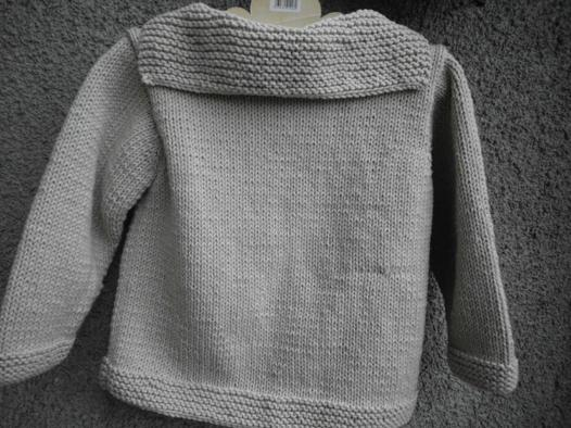 modele tricot pull fille 3 ans