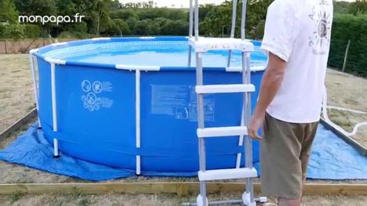 montage piscine intex tubulaire ronde