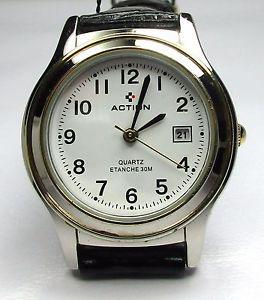 montre action quartz