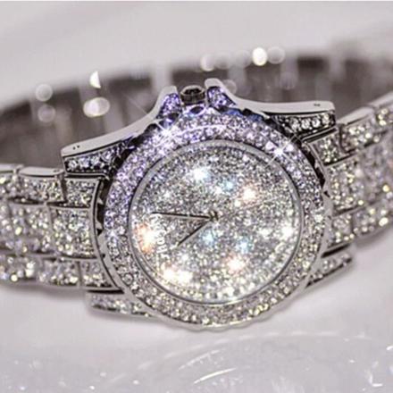 montre diamant femme