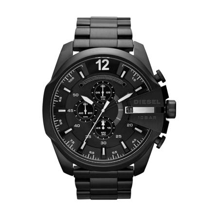 montre diesel noir
